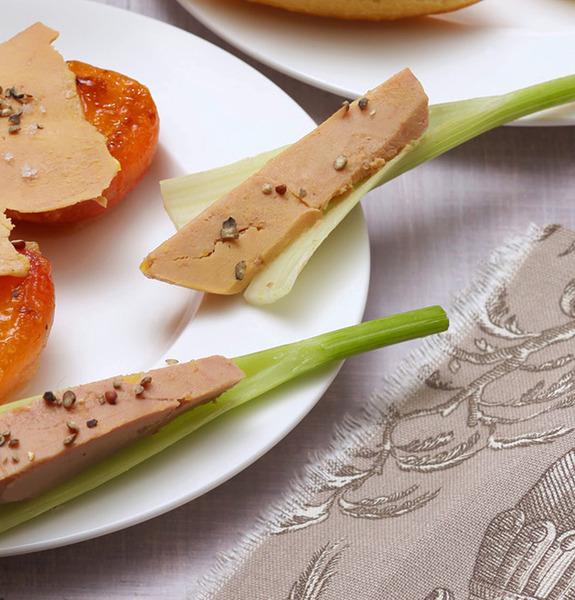 Petites bouch es au foie gras id es de recettes faciles - Cuire du foie gras ...