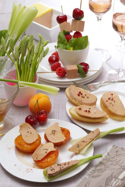 Quelle quantit de foie gras par personne - Decoration assiette de foie gras photo ...
