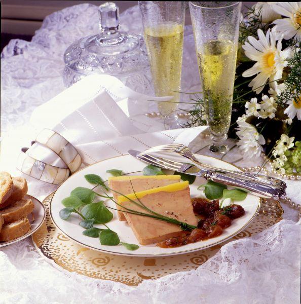 Repas de mariage classique