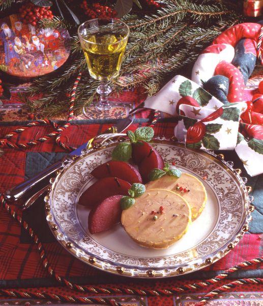 Recettes originales de foie gras pour le r veillon - Recette de viande pour le reveillon ...