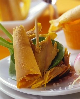 recette foie gras printemps